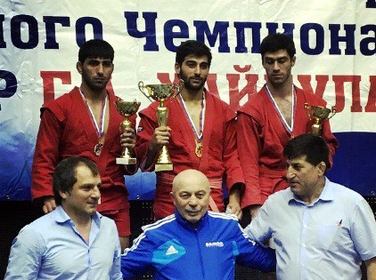 Чемпион турнира - Хачатрян Вартан Тигранович город Сочи