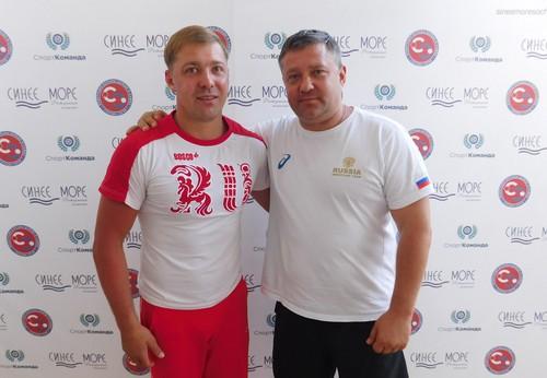 Дмитрий Лебедев и Владимир Елединов