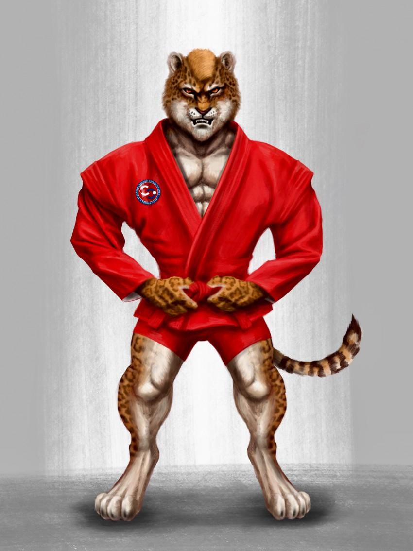 Талисман федерации борьбы дзюдо и самбо города Сочи