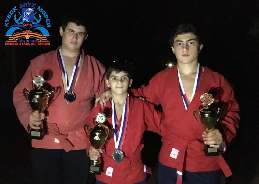 Сочинские самбисты на Кубке двух морей в Керчи