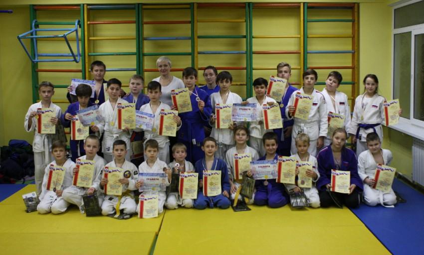 Победители и призеры турнира по дзюдо на призы ДЮСШ №9 города Сочи
