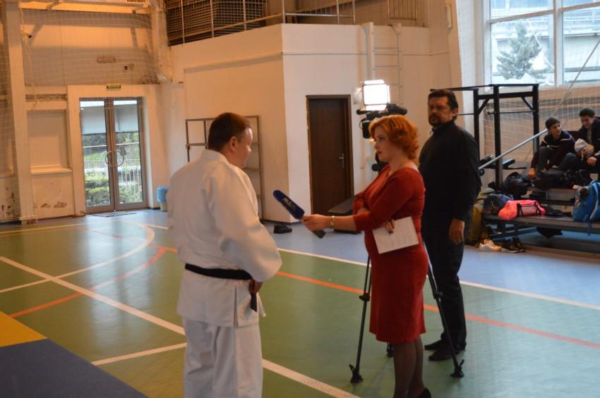 Елединов Владимир дает интервью