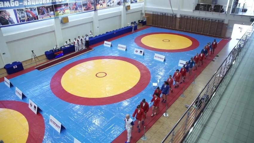 Всероссийский мастерский турнир по самбо среди женщин на призы клуба «Патриот»