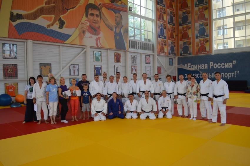 Семинар Федерации дзюдо России в Сочи