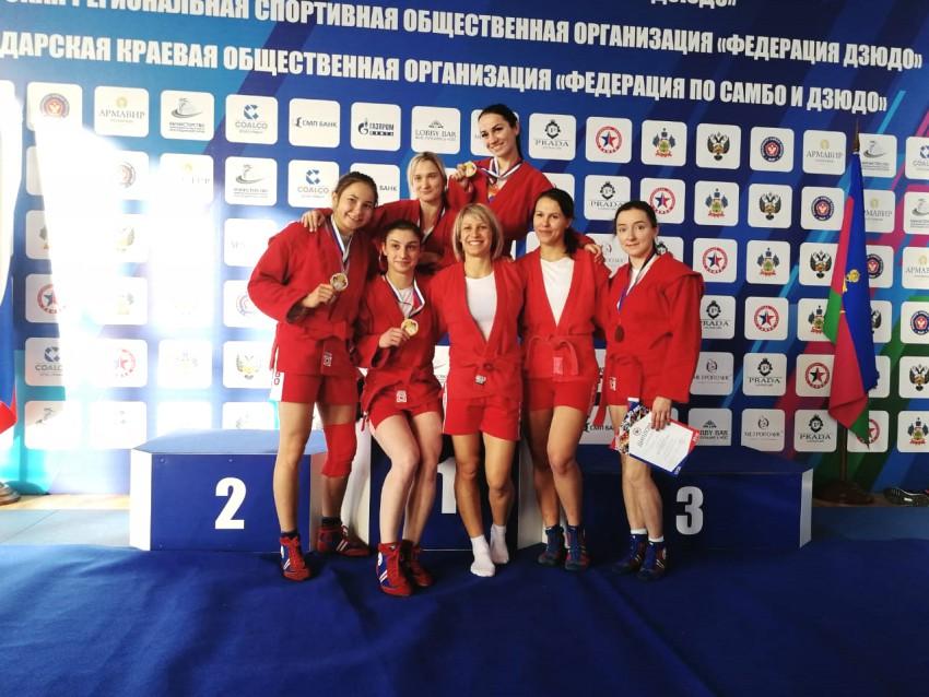 Чемпионат ЮФО по самбо 2018 года