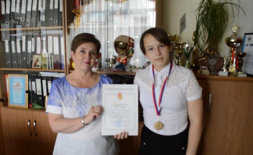 Безверхая Ольга Васильевна, Авдеева Алина, Гимназия №6, ДЮСШ 17