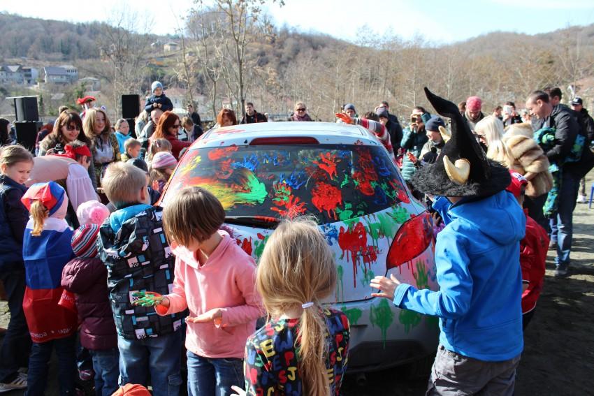 был очень веселый праздник для деток, огромное спасибо организаторам!!!