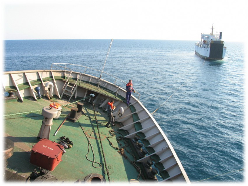 Турецкое судно «BOZTEPE»