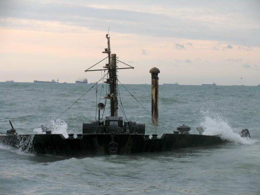 Работы в Керченском проливе