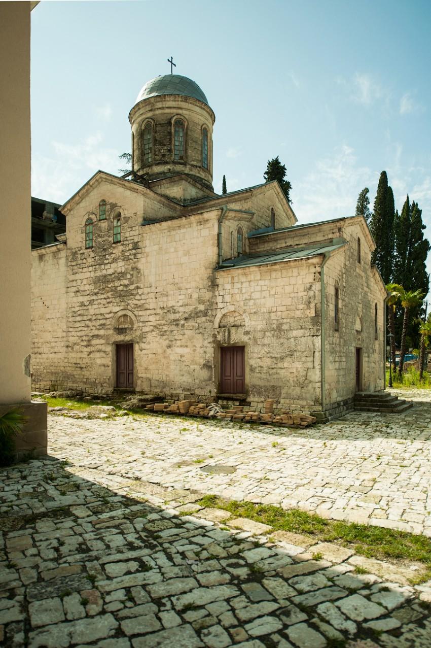 Церквушка в Новом Афоне