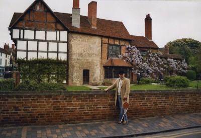 Игорь в Шотландии весной. 2006 г