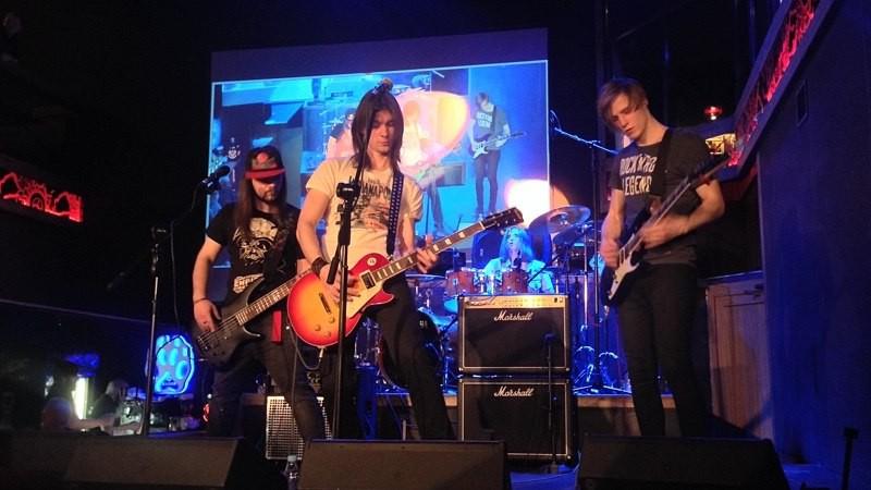 в «Треугольник» рок-баре состоялось выступление Scream Inc. (г. Киев) – кавер-группы Metallica