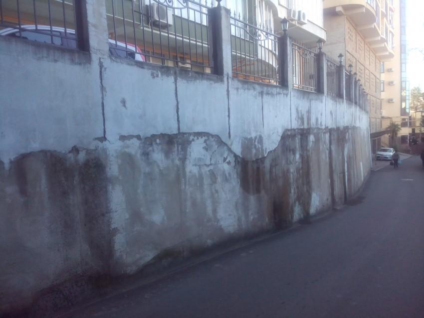 И видимо Яшнова не видит обшарпаную опорную стену у этого крутого дома