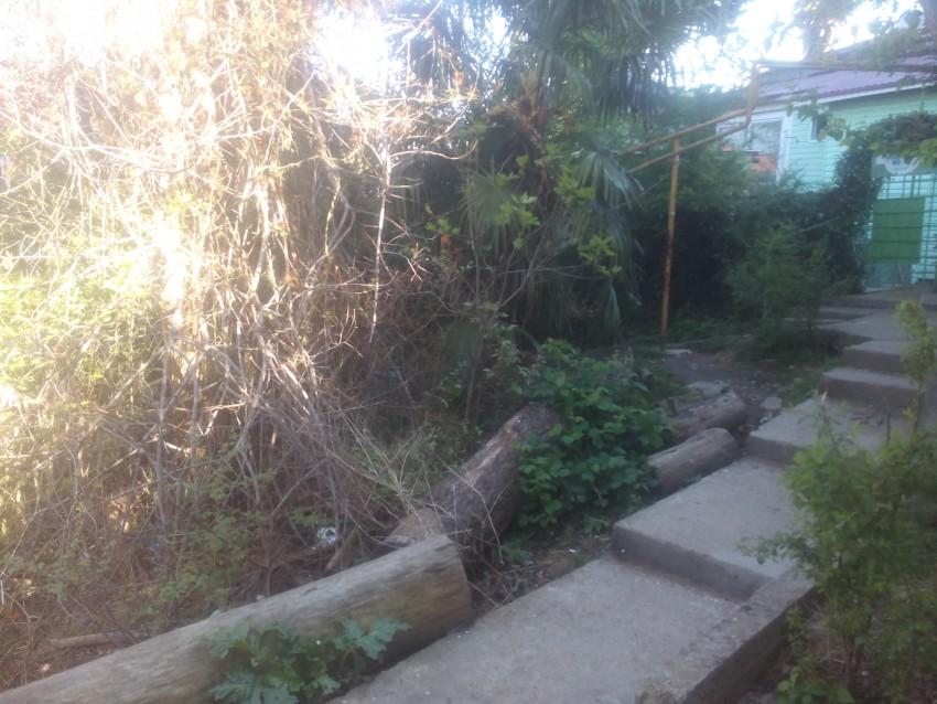 А это лестница соеденеющая улицы Дмитриевой и Лермонтова