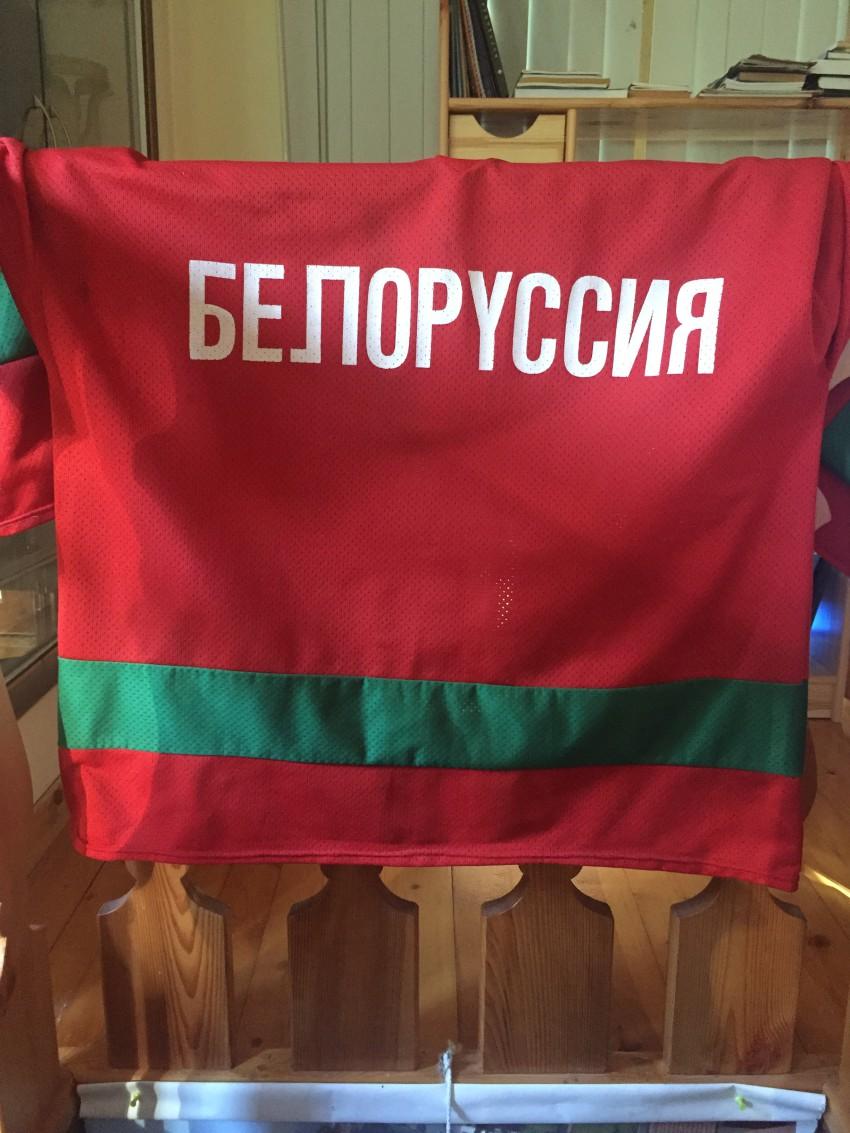 Спортивная кофта хоккеиста Лукашенко А.Г.