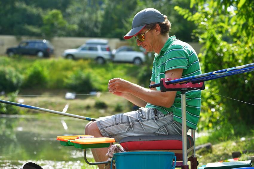 спортсмены спортивной рыбалки