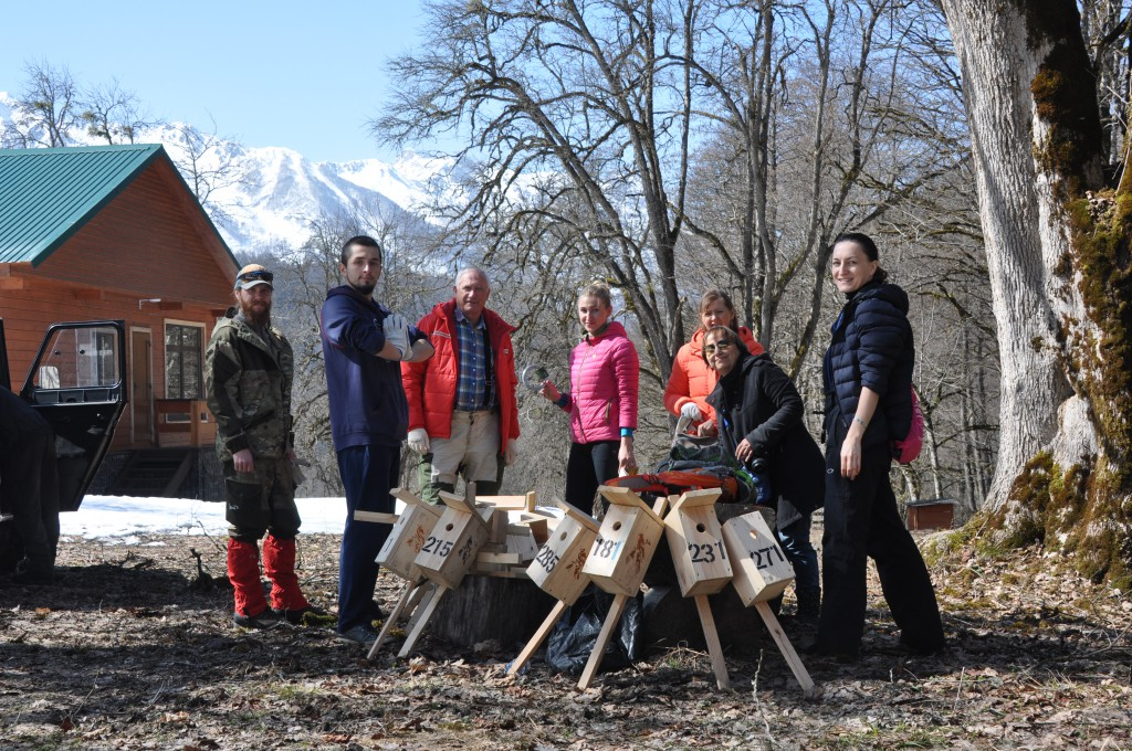 В Сочинском национальном парке стартовал пернатый челлендж