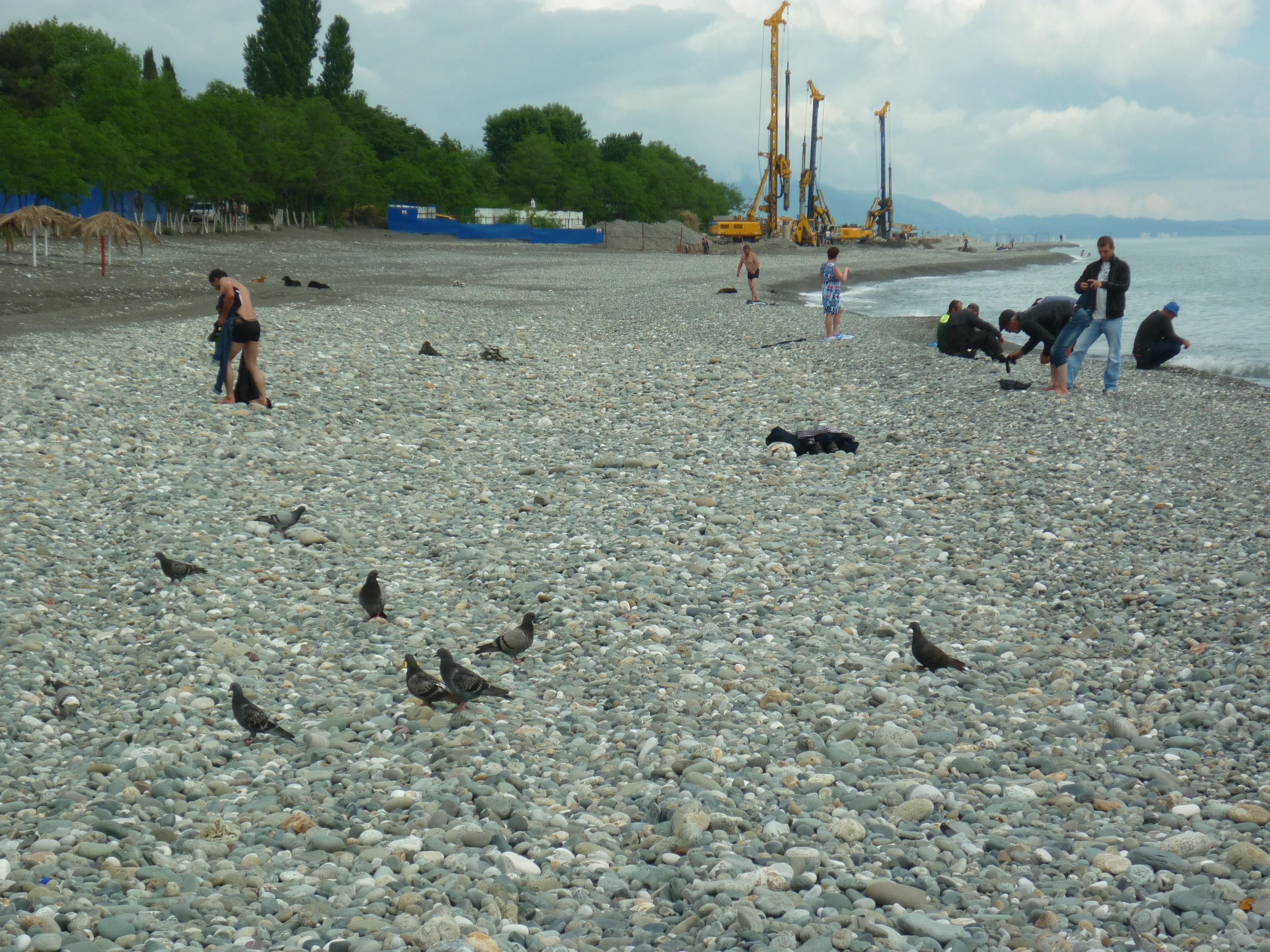 Пляж совхоз россия фото