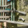 Водоприемная воронка для крыши (выпускная воронка)