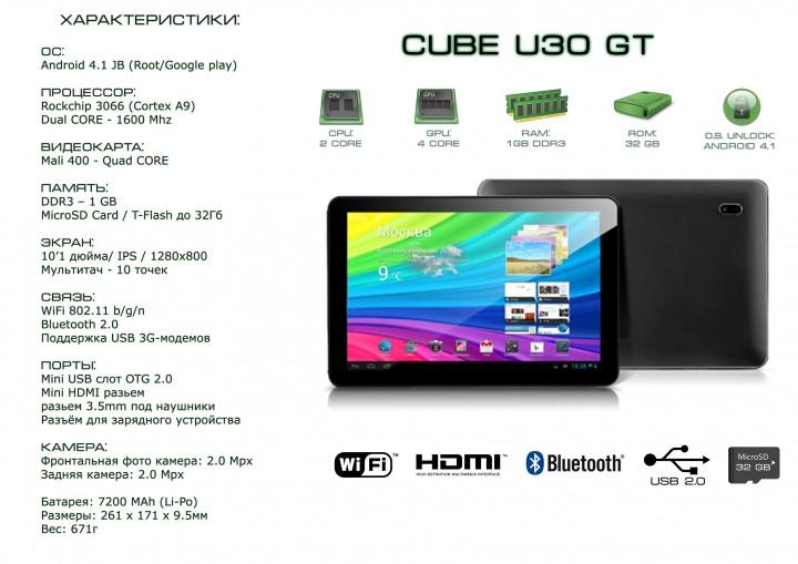 CUBE U30 GT