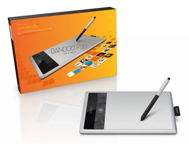 "WACOM Bamboo Fun M Pen + Touch ""Графический планшет"""