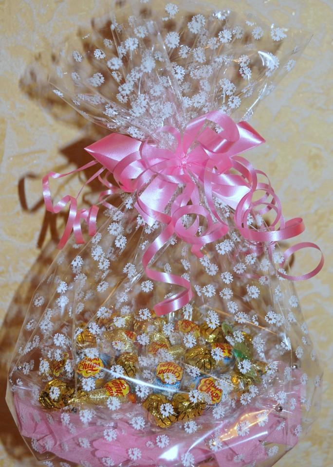 букеты и композиции из конфет