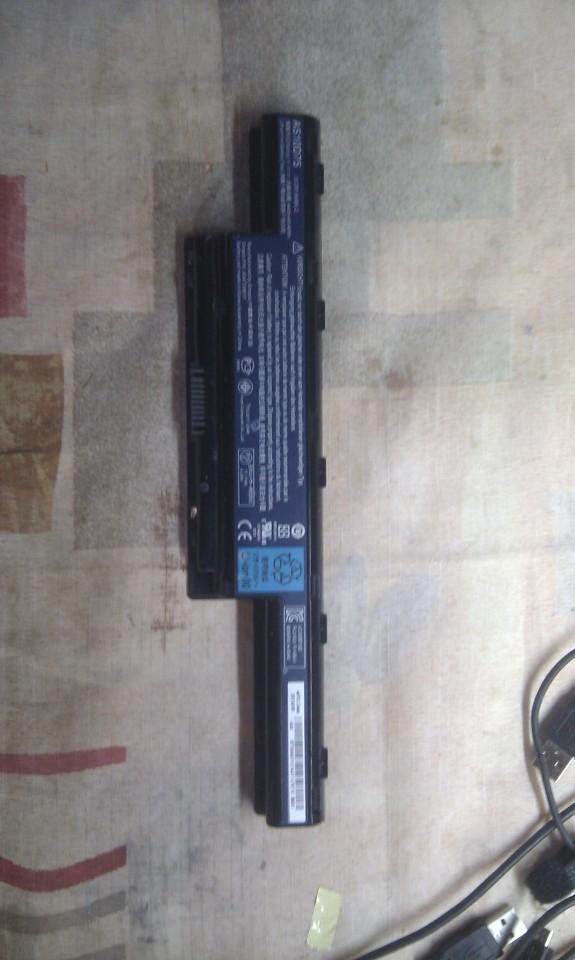Батарея от ноутбука ACER б.у  6 месяцев