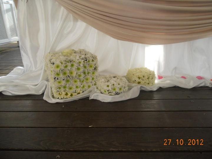 Свадебные украшения ручной работы, флористика.