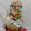 Куклы Тильда и Снежка ручной работы.