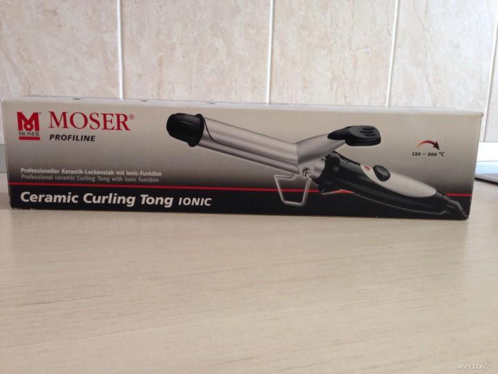 Щипцы для завивки волос Moser 4431-0052