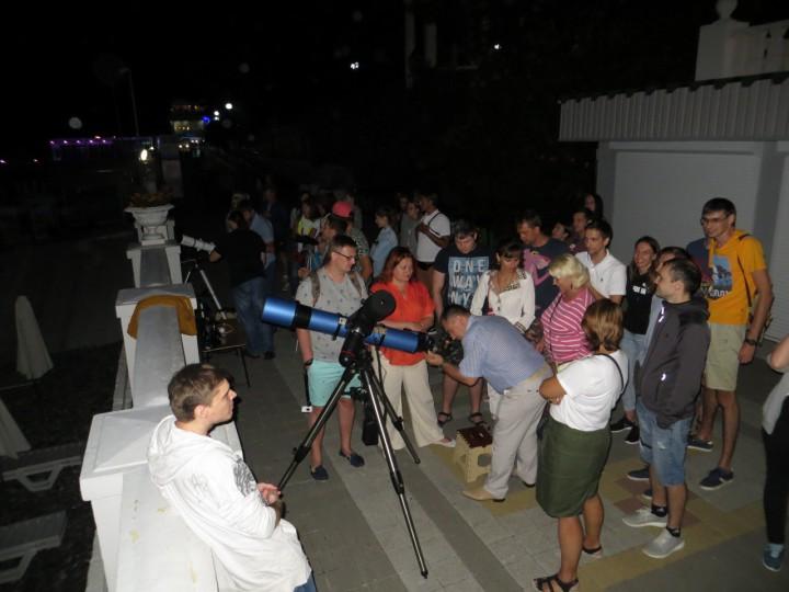 Работа в Сочи с телескопом по вечерам