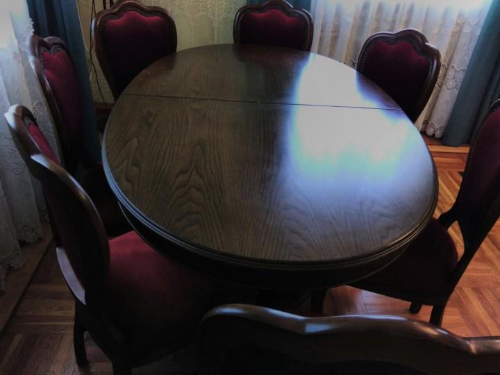 Продам стол  и  стульев