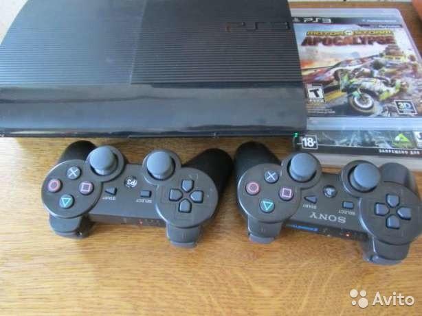 Продам PS3 Super Slim 500 GB