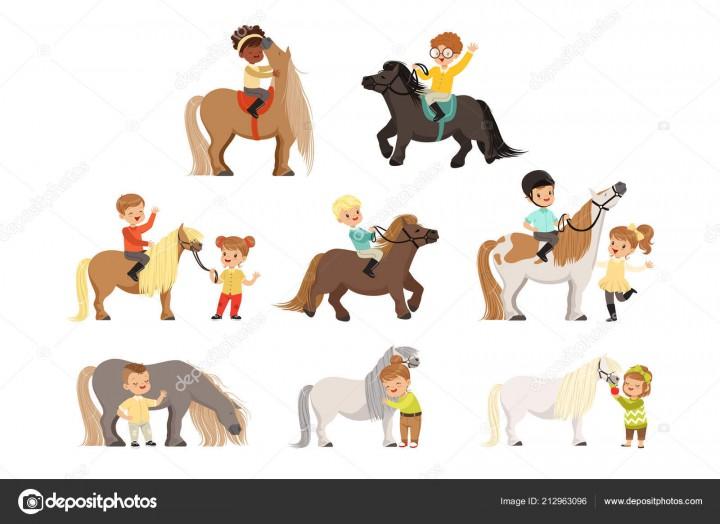 Набор детей 10-12 лет в конный спорт