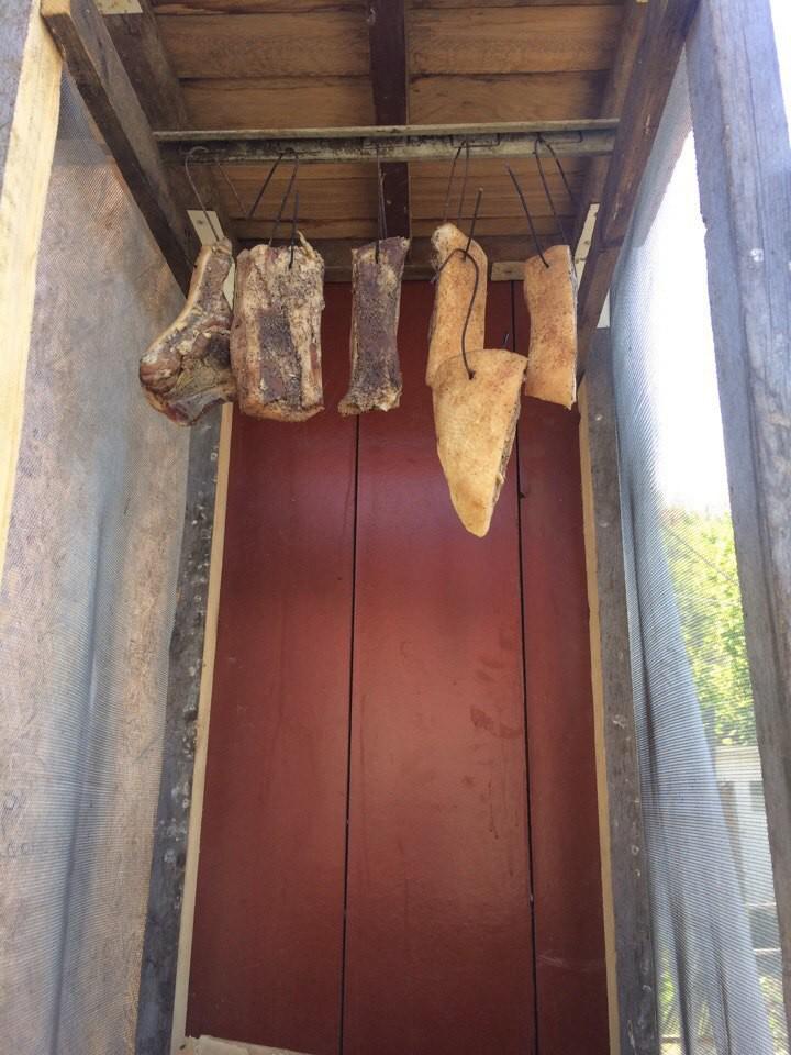 домашнее копчение мяса