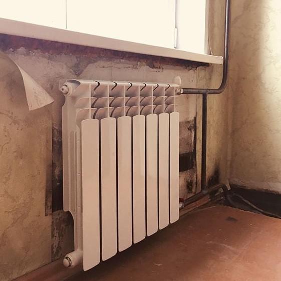 Газосварка. Установка радиаторов отопления.