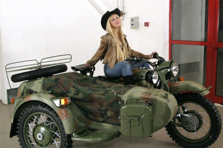 Урал с коляской фото