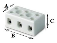Керамические клеммные колодки