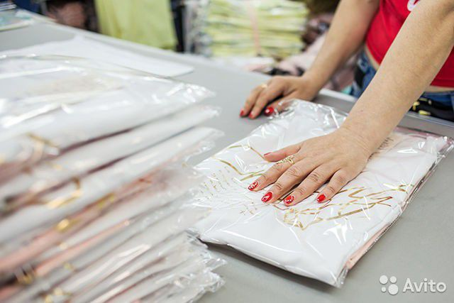 Требуется упаковщик швейных изделий