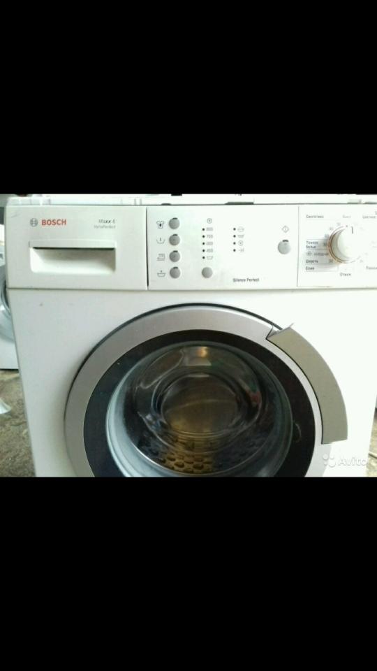 Неисправную стиральную машину