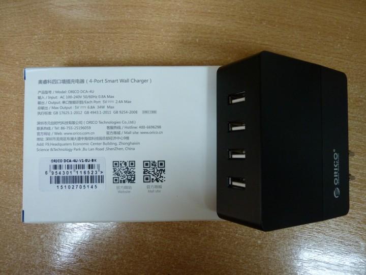ORICO мощное универсальное зарядное устройство для гаджетов.