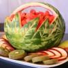 Художественная резьба по фруктам и овощам (карвинг)