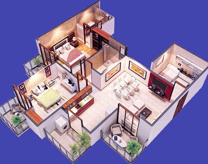 Проект перепланировки квартиры или нежилых помещений