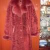 Дублёнка- пальто