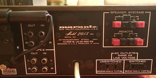 Продам стереоресивер Marantz Model 2015